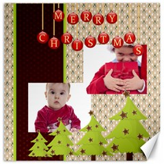 Merry Christmas By Clince   Canvas 20  X 20    Araozy7jp0dh   Www Artscow Com 20 x20 Canvas - 1