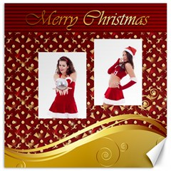 Merry Christmas By Clince   Canvas 20  X 20    Araozy7jp0dh   Www Artscow Com 20 x20 Canvas - 5