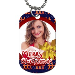 Xmas By Clince   Dog Tag (two Sides)   Il0oc48ehzh5   Www Artscow Com Back