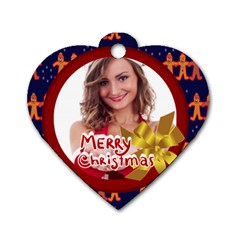 Xmas By Clince   Dog Tag Heart (two Sides)   Enh9huualreu   Www Artscow Com Front