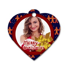 Xmas By Clince   Dog Tag Heart (two Sides)   Enh9huualreu   Www Artscow Com Back