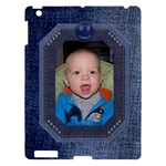 Happy Denim Apple iPad 3 Hardshell Case - Apple iPad 3/4 Hardshell Case