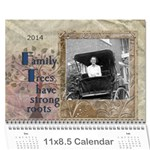 2013 Family Tree Calendar (18 Month) - Wall Calendar 11 x 8.5 (18 Months)