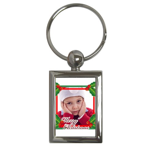 Xmas By Jacob   Key Chain (rectangle)   Ebbrqfpwerig   Www Artscow Com Front
