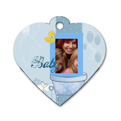Baby By Jacob   Dog Tag Heart (two Sides)   Fktk8rrxjfst   Www Artscow Com Front