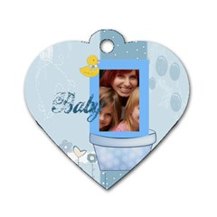 Baby By Jacob   Dog Tag Heart (two Sides)   Fktk8rrxjfst   Www Artscow Com Back