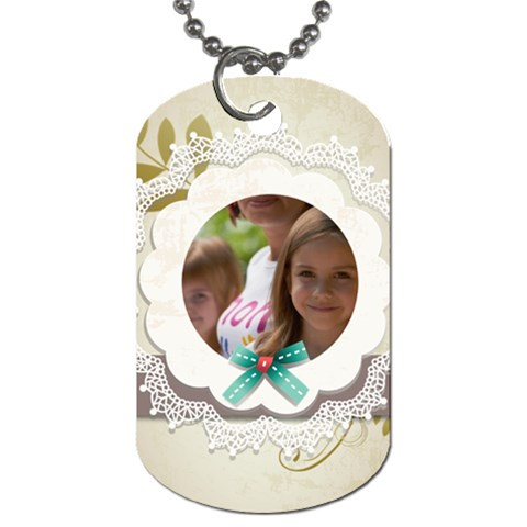 Baby By Jacob   Dog Tag (one Side)   Erqr2xqss9oy   Www Artscow Com Front