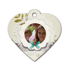 Baby By Jacob   Dog Tag Heart (two Sides)   8tor1tgriwe0   Www Artscow Com Front