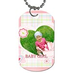 baby - Dog Tag (One Side)