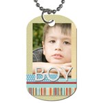 boy - Dog Tag (Two Sides)