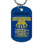 football dog tag - Dog Tag (Two Sides)