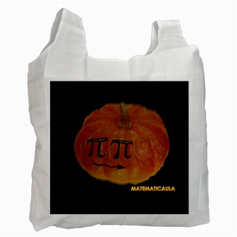 Bolsa   Halloween By Matematicaula   Recycle Bag (one Side)   0t7dmw0duaj3   Www Artscow Com Front