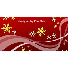 Heart Frames Believe In Christmas Card (8 X 4) By Kim Blair   Believe 3d Greeting Card (8x4)   Pxbci9e0m0z8   Www Artscow Com Back