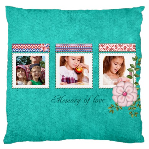 Memory By Joely   Large Cushion Case (one Side)   U7qy2vtqthzc   Www Artscow Com Front
