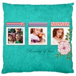 memory - Large Cushion Case (One Side)