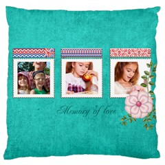 Memory By Joely   Large Cushion Case (two Sides)   2riaxh16xk2a   Www Artscow Com Back