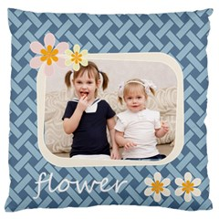 Flower By Joely   Large Cushion Case (two Sides)   N1q4uns3qi8y   Www Artscow Com Front