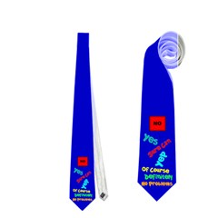 Yes Necktie (Two Side) by OurInspiration