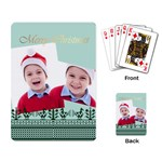 merry christmas - Playing Cards Single Design