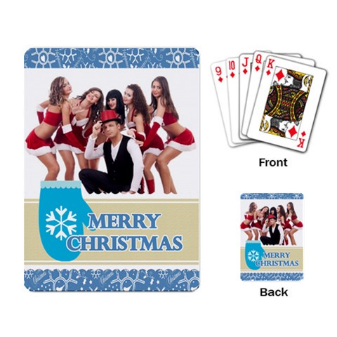 Xmas By Clince   Playing Cards Single Design   Altd10d253y2   Www Artscow Com Back