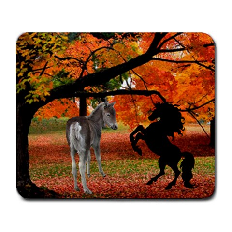 Fall Scene Mousepad By Kim Blair   Collage Mousepad   Lq3ft3jgkg6d   Www Artscow Com 9.25 x7.75 Mousepad - 1