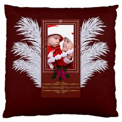 Xmas By Debe Lee   Large Cushion Case (two Sides)   V62wnmjhryf7   Www Artscow Com Front