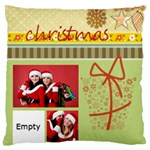 xmas - Large Cushion Case (Two Sides)