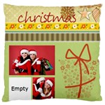 xmas - Large Cushion Case (One Side)