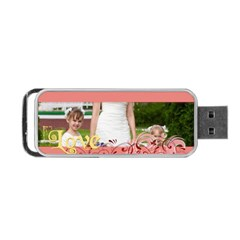Love By Man   Portable Usb Flash (two Sides)   Zda6e1ptvb71   Www Artscow Com Back