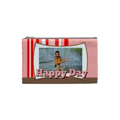 Happy Day By Man   Cosmetic Bag (small)   O1vbg9apodt1   Www Artscow Com Front