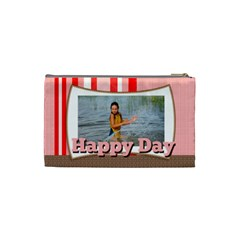 Happy Day By Man   Cosmetic Bag (small)   O1vbg9apodt1   Www Artscow Com Back
