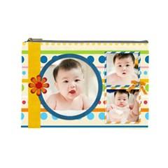 恩包 By Safin   Cosmetic Bag (large)   2jb9a0qywa8o   Www Artscow Com Front