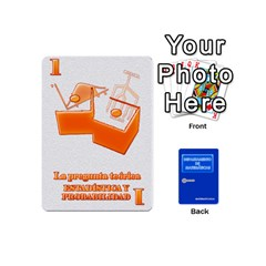 Ace Departamento De Matemáticas   Minicards By Matematicaula   Playing Cards 54 (mini)   1w65zakfp0g4   Www Artscow Com Front - SpadeA