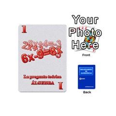 Departamento De Matemáticas   Minicards By Matematicaula   Playing Cards 54 (mini)   1w65zakfp0g4   Www Artscow Com Front - Spade6