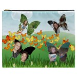 Field of Butterflies Cosmetic Bag (XXXL) 2 sides