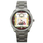 xmas - Sport Metal Watch