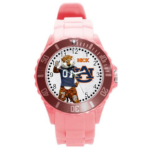 Large Sports Watch Auburn University By Pat Kirby Front