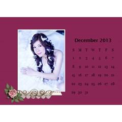 Calender2013 By Posche Wong   Desktop Calendar 8 5  X 6    Scnv7r09lk1o   Www Artscow Com Dec 2013