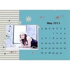 Calender2013 By Posche Wong   Desktop Calendar 8 5  X 6    Z0zi5req3vor   Www Artscow Com May 2013