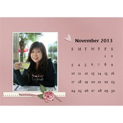 Calender2013 By Posche Wong   Desktop Calendar 8 5  X 6    Vemo9tkf9qnh   Www Artscow Com Nov 2013