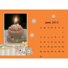 Calender2013 By Posche Wong   Desktop Calendar 8 5  X 6    Vemo9tkf9qnh   Www Artscow Com Jun 2013