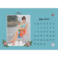 Calender2013 By Posche Wong   Desktop Calendar 8 5  X 6    Vemo9tkf9qnh   Www Artscow Com Jul 2013