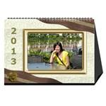 fanny2013 - Desktop Calendar 8.5  x 6