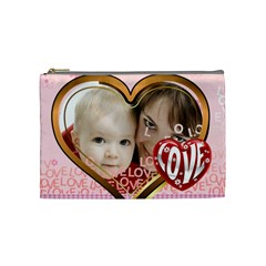 Love By Joely   Cosmetic Bag (medium)   Ogfj6ruhdr89   Www Artscow Com Front