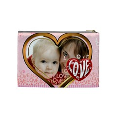 Love By Joely   Cosmetic Bag (medium)   Ogfj6ruhdr89   Www Artscow Com Back