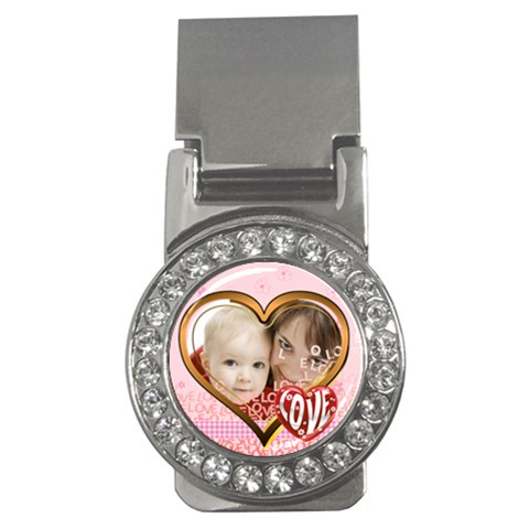 Love By Joely   Money Clip (cz)   Wm5n6pq94f6n   Www Artscow Com Front
