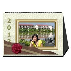 Fanny2013 By Posche Wong   Desktop Calendar 8 5  X 6    Cn98mzoffea5   Www Artscow Com Cover
