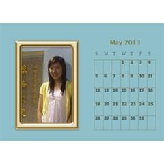 Fanny2013 By Posche Wong   Desktop Calendar 8 5  X 6    Cn98mzoffea5   Www Artscow Com May 2013