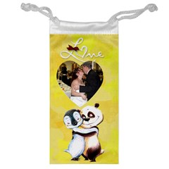 Panda Penguin Jewelry Bag By Kim Blair   Jewelry Bag   Eog997qb0grw   Www Artscow Com Front