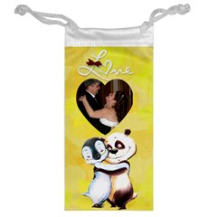 Panda Penguin Jewelry Bag By Kim Blair   Jewelry Bag   Eog997qb0grw   Www Artscow Com Back